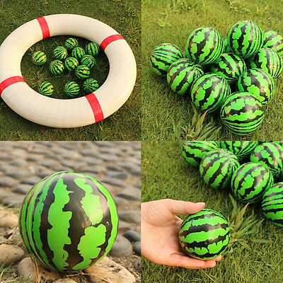 6.3 cm Watermelon Shaped Hand Wrist Exercise Stress Relief Squeeze Foam Ball V0