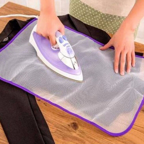 Heat Resistant Ironing Cloth Protective Insulation Pad Home Ironing Mat Mesh`SL~