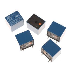 5Pcs 3V Mini  SRD-3VDC-SL-C PCB Type DC Power Relay Ship Fast
