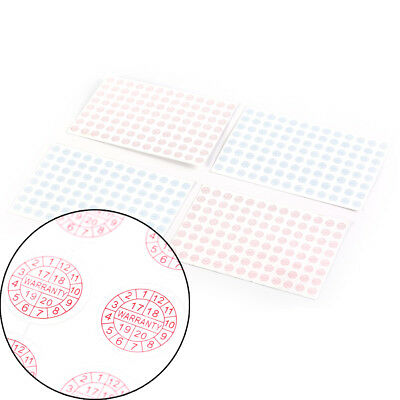208pcs Security Seal Tamper Proof Warranty Fragile Void Labels Sticker Su