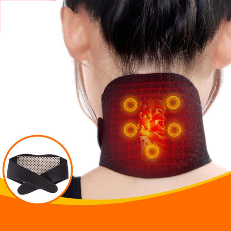 2x Nacken Massagegerät Pro Shiatsu kneten Schulter Massage Gürtel Wärmefunkha