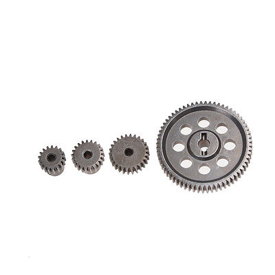 11184 Steel Metal Spur Diff Differential Main Gear 64T Motor Pinion Gears (Metal Pinion Gear)