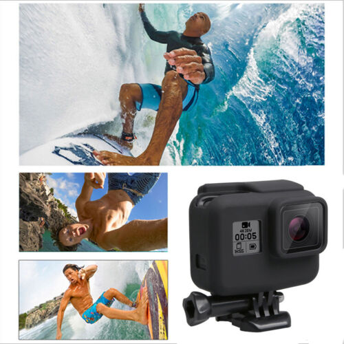 Soft Silicone Rubber Protective Housing Case Cover Skin For GoPro Hero 5 Black