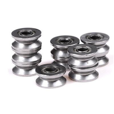10pcs 624VV V Groove Sealed Ball Bearings Vgroove 4 x 13 x 6mm 2~2.5mm deep