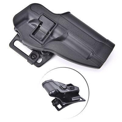 1X Tactical Pistol Right Hand Belt Gun Holster Beretta M9 M92 96 Black Polyme~JP buy at eBay.co.uk