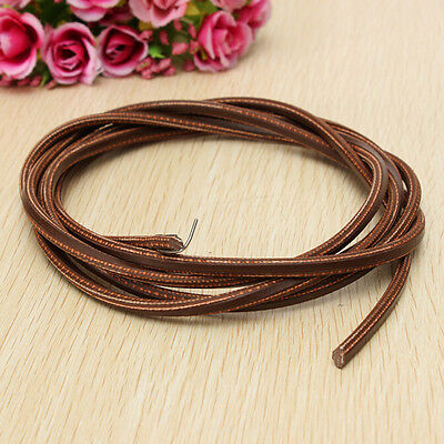 """71"""" 3/16""""Leather Belt Treadle Parts with Hook for Singer/Jon"""