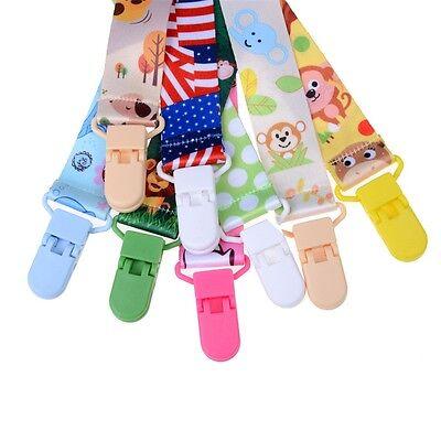1x Baby Säuglings Schnuller Schnuller Nippel Band Leine Strap Kette Clip 0U W0HW