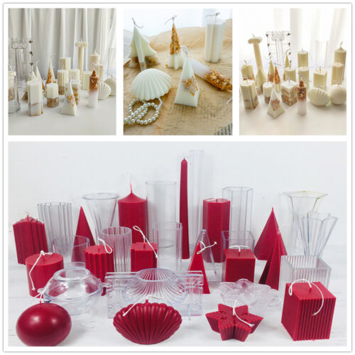 Candle Mold Silicone Mould For Candle Making Gypsum Mould Clay Resin Molds