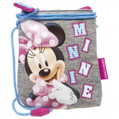 Minnie Maus Brustbeutel Kinder Geldbörse Geldbeutel Portemonnaie Mouse