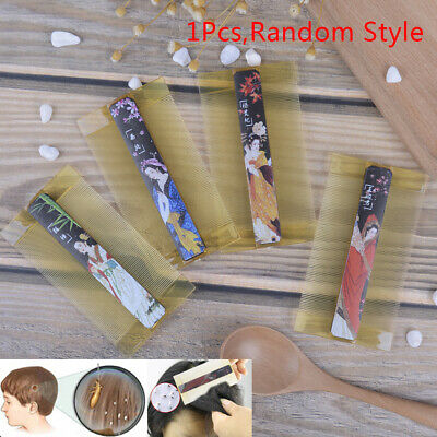 Durable Resin Dense-Toothed Comb Lice Comb Anti-Dandruff Comb Hairdressing Combs