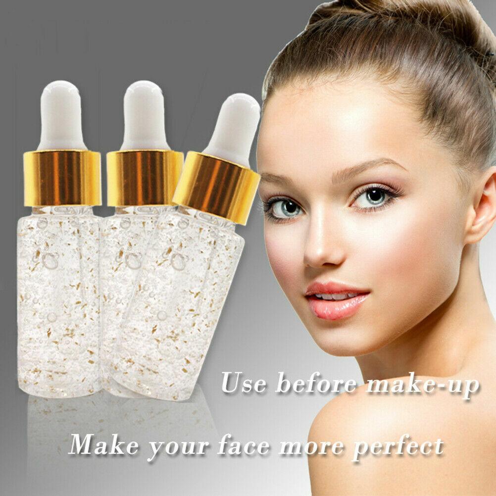 24K rose gold elixir skin make up oil face essential primer foundation face S