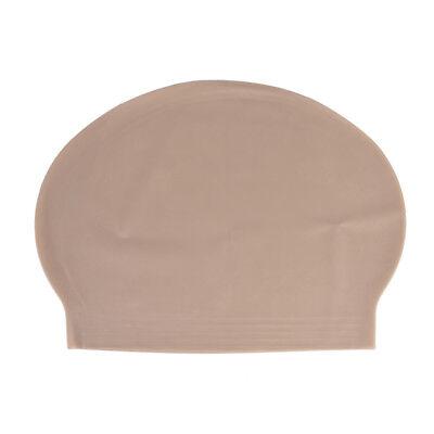 Fake Latex Flesh Skin Unisex Bald Head Wig Cap Rubber Skinhead Costume Prank IJ - Black Bald Cap