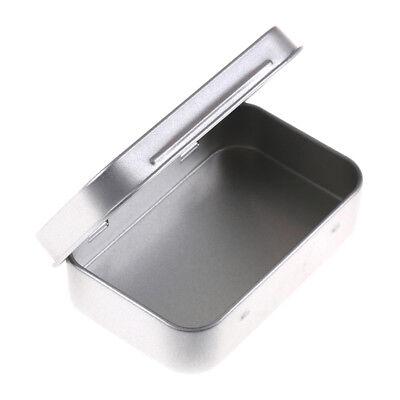 Caja de Almacenamiento Tapa de Estaño Metal para Llaves de Monedas de...