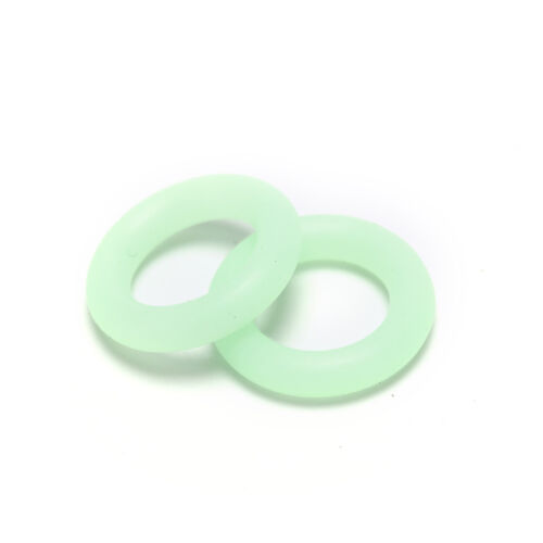 20X Fluorescence Tent Nail Ring Tent Accessories Camping Luminous Guard S/&KPTUK