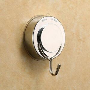 Vacuum Suction Cup Sucker Shower Towel Bathroom Kitchen Wall Door Hook Hange DL