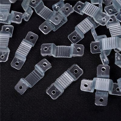 Clip di fissaggio per LED a striscia di LED per fissaggio al silicio a LED 100X