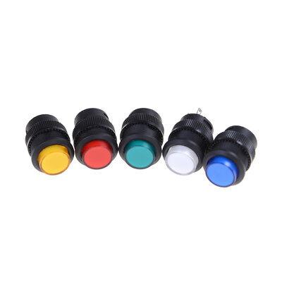 2Pcs R16-503AD OFF-ON LED Light Self-locking Latching Push Button Switch  MA Push-button Switch
