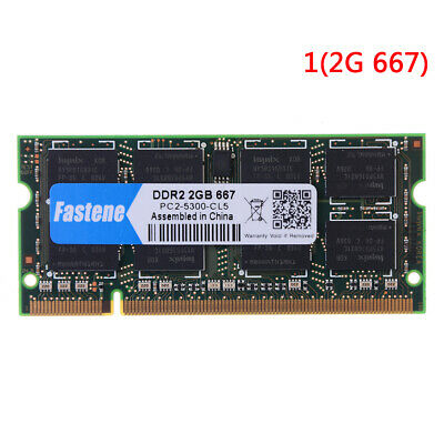 2 Gb Laptop (Laptop Notebook 2GB DDR2 PC2-6400 667MHZ 800MHZ RAM memory FD)