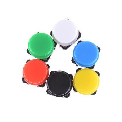 10pcs Momentary Tact Tactile Push Button Switch 4 Pin Cap Pt Pl