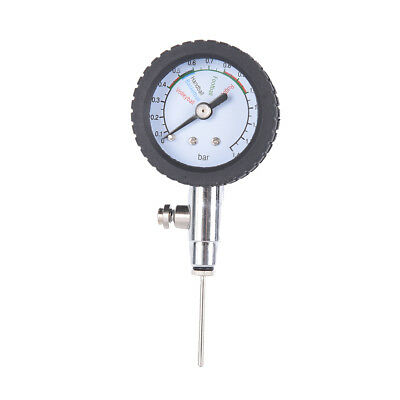 Pressure Gauge Air Watch Soccer Ball Football Volleyball Basketballs Barome Aqw