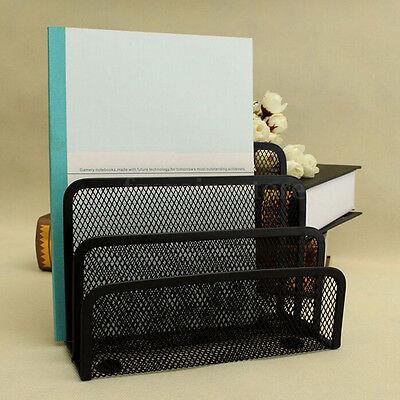 New Mesh Letter Paper File Storage Rack Holder Tray Organiser Desktop Office Rh
