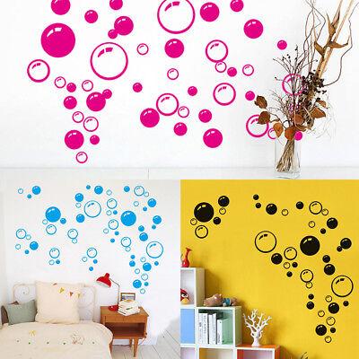 wall art bathroom shower tile removable decor decal mural kid sticker bubble FTU