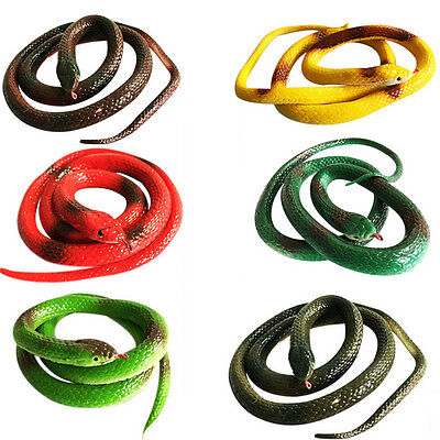 Special Simulation Snake Rubber Fake Funny April Fool Joke Gags Trick Toy - Toy Snakes