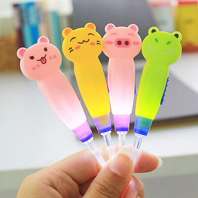 Baby Kids LED Flashlight Ear Pick Ear Wax Curette Remover Cleaner Health Care ^V