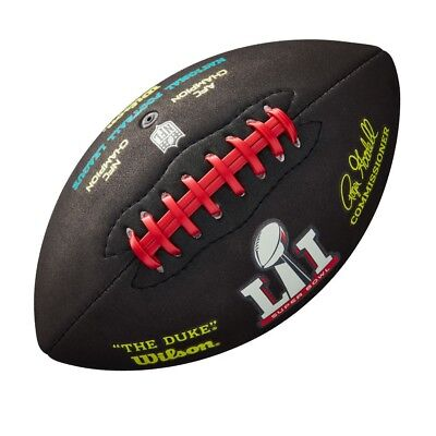 WILSON NFL Super Bowl 51 micro mini american football soft feel Official NFL - Official Nfl Super Bowl Football