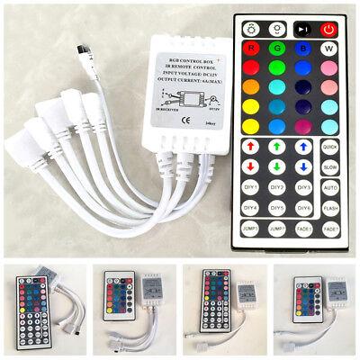 24 44 Key IR Remote Controller DC 12V for RGB LED 3528 5050 SMD Strip - Ir Remote Led