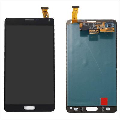 Sbi For Samsung Galaxy Note4 N910a N910v N910p Lcd Digitizer Touch Screen Black