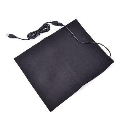 5V Carbon Fiber Heater USB Heated mat Jacket Heated Pads Winter Warmer Heaterjg&