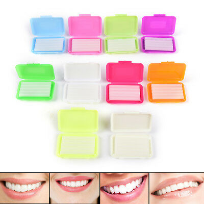 Dental Orthodontics Ortho Wax Fruit Scent For Brace Bracket Gum Protective Gx