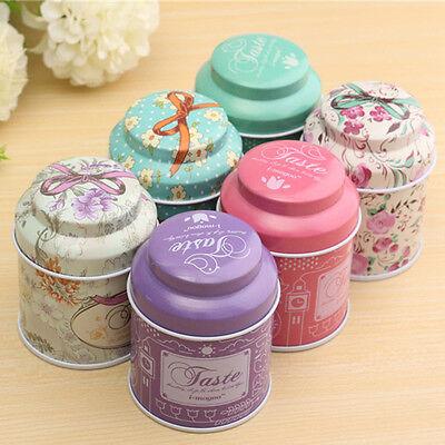 Flower Sugar Jar - Flower Christmas Metal Sugar Coffee Tea Tin Jar Container Candy Sealed Cans BNJ