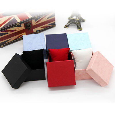 Geschenk Geschenkboxen Fall für ArmbandSchmuck Ring Ohrringe Armbanduhr Box8X W0