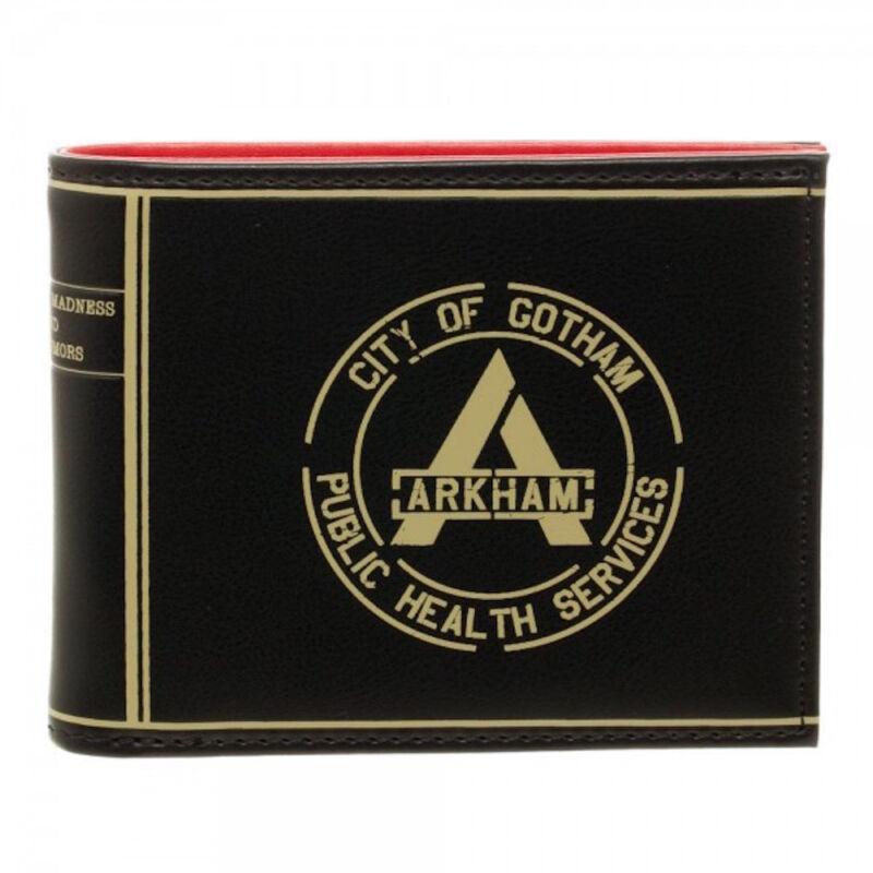 Suicide Squad Arkham City of Gotham Bi Fold Wallet