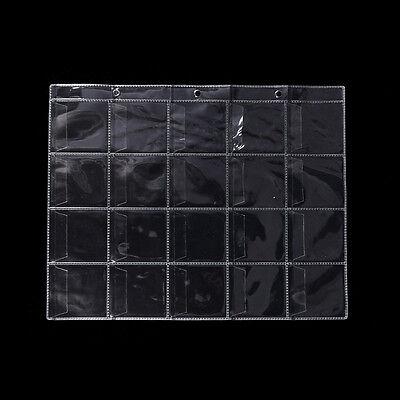 Kunststoff Münzrähmchen Lagerung Sammlung Geld Album Fal W0 (Kunststoff Lagerung Taschen)