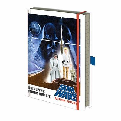 Star Wars Action Figures Hardback A5 Premium Notebook