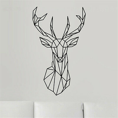 Наклейки и рисунки Removable Decoration Deer