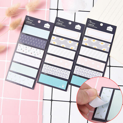 Office Stationery Sticky Notes Cute Kawaii Sticker Bookmark Marker Memo Paper Ca