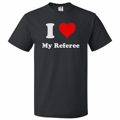 I Heart My Referee T-shirt - I Love My Referee Tee](Referee T Shirts)