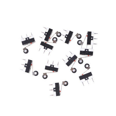 10x 1a 125v Micro Switch Roller Lever Actuator Spdt Sub Miniature Vvv