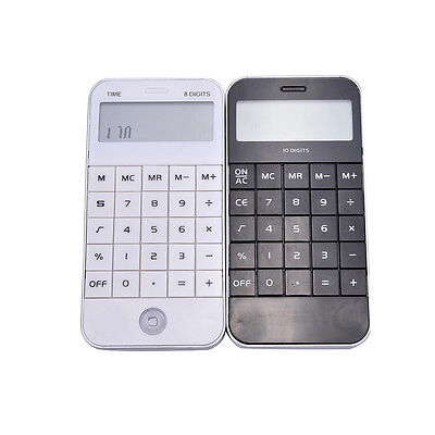 Pocket Electronic 10 Digits Display Calculating Calculator New Hot  TO