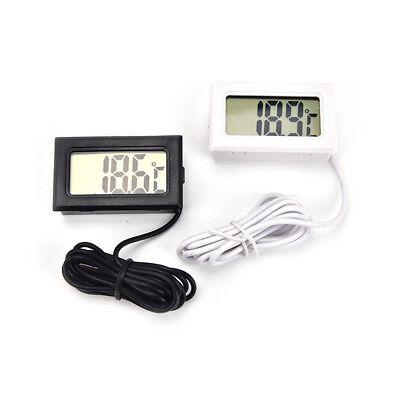 Mini Lcd Digital Fridge Freezer Temperature Thermometer Meter Temp Sensor Probe.