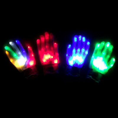 1Pc light-up toys led rave flashing glove glow light up finger tip lightingZJP