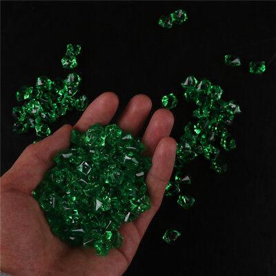 Acrylic Crystal Gem Stone Ice Rocks Table Scatter Confetti Vase Filler 150x - Vase Gems