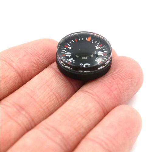 Mini Thermometer Kunststoff Zeiger Runde Grad Innen und AußenhaushaltsgeräteD*