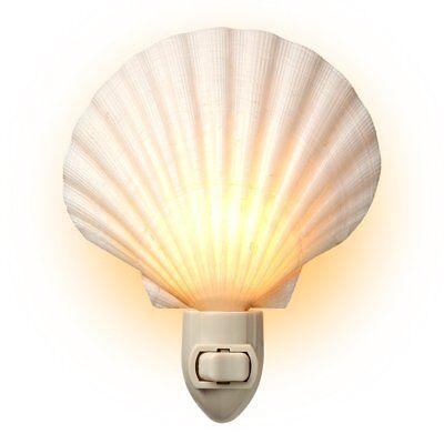 seashell night light