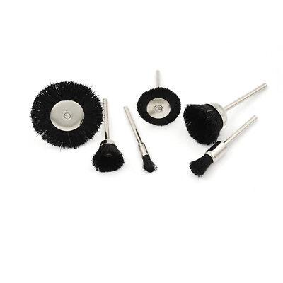 5Pcs Soft Nylon Polierbürste Räder Pinsel für Mini Bohren Rotary WerkzeugeYWQDE