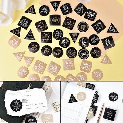 45X Wishes paper sticker DIY diary decoration sticker planner scrapbook AlbumUQ